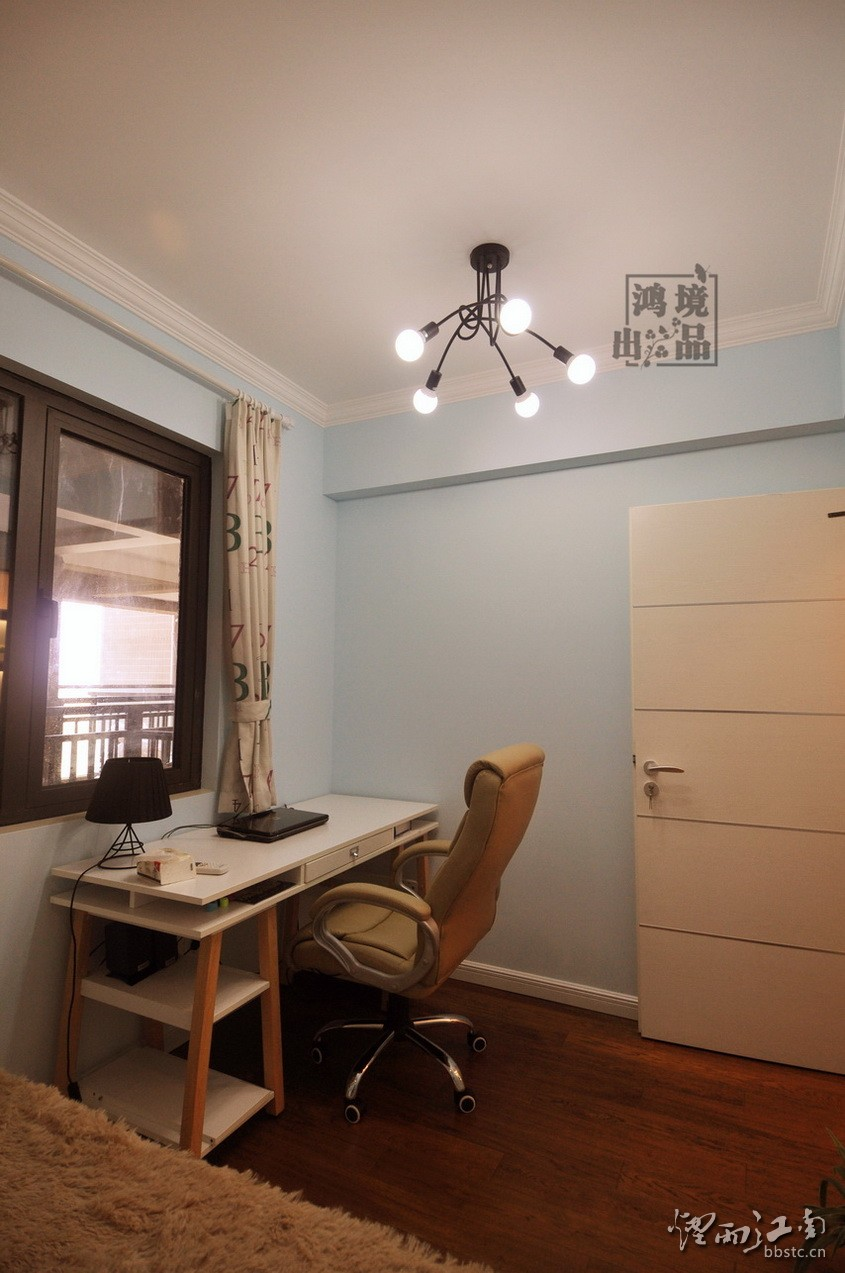 【实景案例】太仓太和丽都92㎡现代简约小三房,简洁的配色,爱上家的感觉。